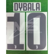 Official DYBALA #10 Juventus Home 2018-19 PRINT