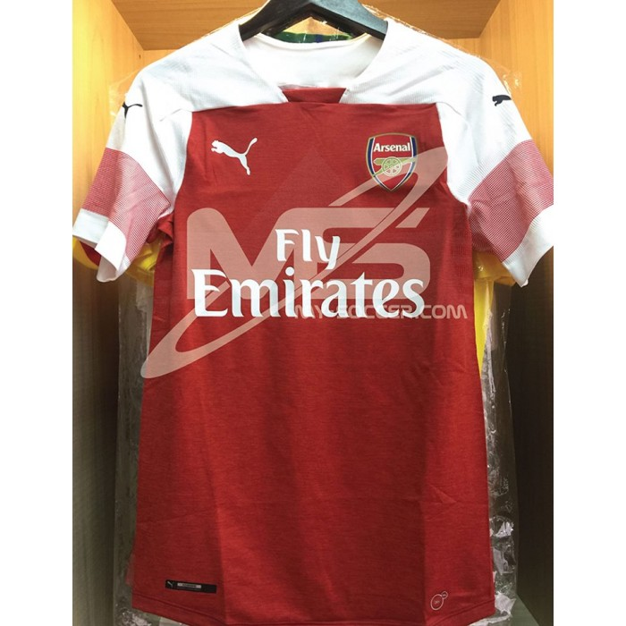 dc21aed8d63 EVOKNIT PUMA Arsenal FC Authentic Player Home 2018-19 Jersey