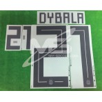 Official DYBALA #21 Argentina Home World Cup 2018 PRINT