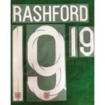 Official RASHFORD #19 England Away World Cup 2018 PRINT