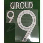 Official GIROUD #9 France Home World Cup 2018 PRINT