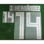 Official J.HERNANDEZ #14 Mexico Home WORLD CUP 2018 PRINT