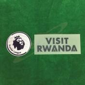 Official VISIT RWANDA + EPL Sleeve Sponsor Arsenal Home 2018-19