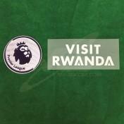 Official VISIT RWANDA + EPL Sleeve Sponsor Arsenal Away 2018-19