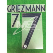 Official GRIEZMANN #7 France Away World Cup 2018 PRINT