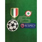 Official Juventus UEFA CHAMPIONS LEAGUE 2018-19 Patches