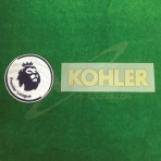 Official EPL + KOHLER Sleeve Sponsor MU 3rd 2018-19 Patches