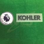 Official EPL + KOHLER Sleeve Sponsor MU Away 2018-19 Patches