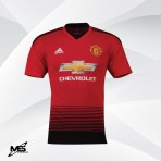 ADIDAS CLIMACHILL PLAYER VERSION Manchester United Home AUTHENTIC 2018-19  Jersey