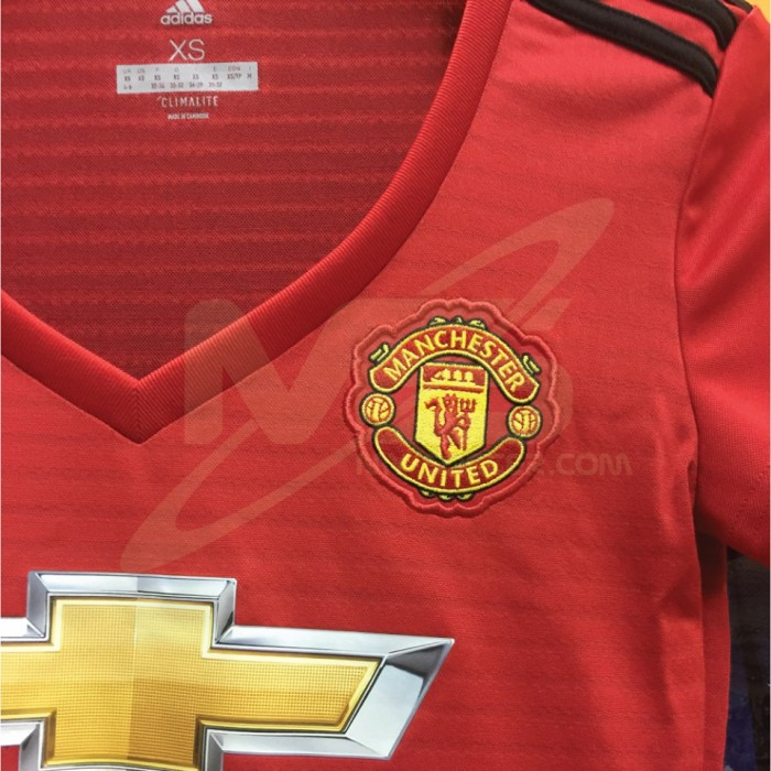 ADIDAS CLIMALITE Manchester United Football Club Home WOMENS 2018-19 Jersey c5295af17