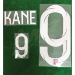Official KANE #9 England Away World Cup 2018 PRINT