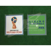 Official FIFA RUSSIA World Cup 2018 + LIVING FOOTBALL PLAYER ISSUE Patch