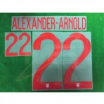 Official ALEXANDER-ARNOLD #22 England Home World Cup 2018 PRINT