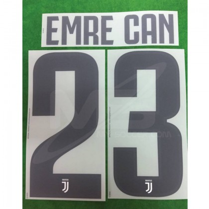 Official EMRE CAN #23 Juventus Home 2018-19 PRINT