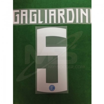 Official GAGLIARDINI #5 Inter Milan Home 2018-19 PRINT