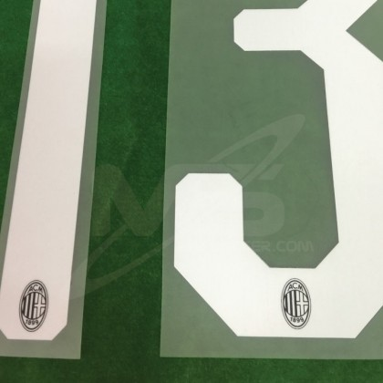 Official ROMAGNOLI #13 AC Milan Home 2018-20 Name Number
