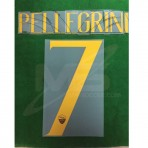 Official PELLEGRINI #7 AS ROMA Home 2018-19 Name Number