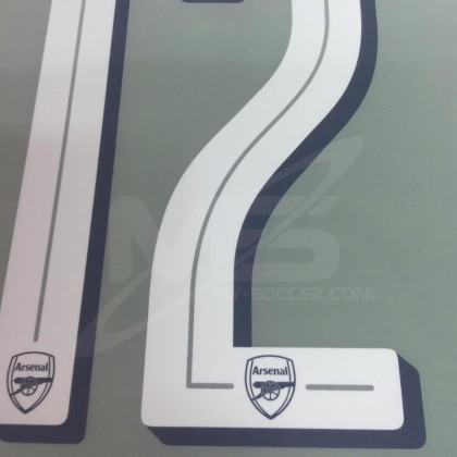 Official LICHTSTEINER #12 Arsenal Home CUP 2018-19 PRINT