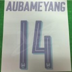 Official AUBAMEYANG #14 Arsenal 3rd CUP 2018-19 PRINT