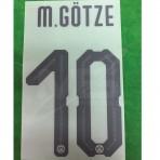 Official M.GOTZE #10 Borussia Dortmund Home 2018-19 PU PRINT