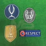 OFFICIAL Real Madrid UEFA SUPER CUP 2018 Patches