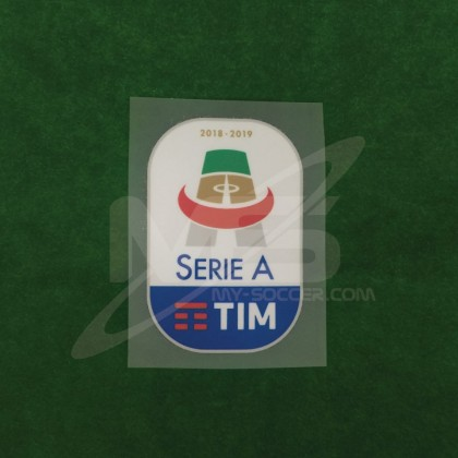 Official Italian Calcio SERIE A TIM Player Size 2018-19 Sleeve Patch
