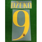 Official DZEKO #9 AS ROMA Home 2018-19 Name Number