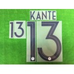 Official KANTE #13 France Away World Cup 2018 PRINT