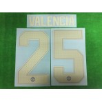 Official VALENCIA #25 Manchester United 3rd CUP UCL 2018-19 PRINT
