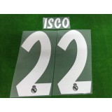 Official ISCO #22 Real Madrid Away 2018-19 PRINT