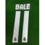 Official BALE #11 Real Madrid Away 2018-19 PRINT