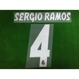 Official SERGIO RAMOS #4 Real Madrid Away 2018-19 PRINT