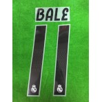 Official BALE #11 Real Madrid Home 2018-19 PRINT