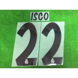 Official ISCO #22 Real Madrid Home 2018-19 PRINT