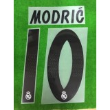 Official MODRIC' #10 Real Madrid Home 2018-19 PRINT