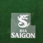 OFFICIAL BIA SAIGON LEICESTER CITY Home 2018-19 PLAYER VERSION sleeve sponsor PRINT