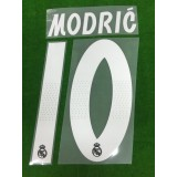 Official MODRIC' #10 Real Madrid Away 2018-19 PRINT