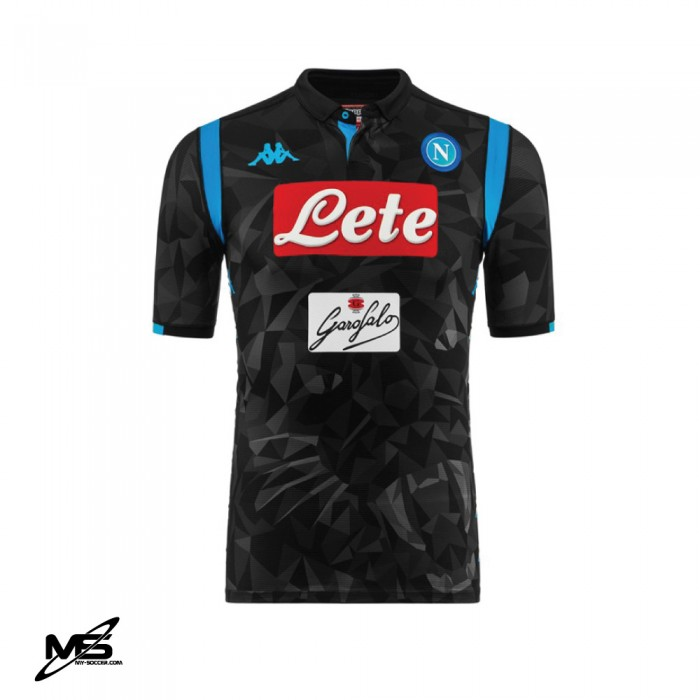 453807a82 KAPPA S.S.C NAPOLI Away 2018-19 PLAYER ISSUE Jersey
