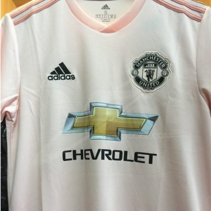 ADIDAS CLIMALITE Manchester United Football Club Away 2018-19  Jersey