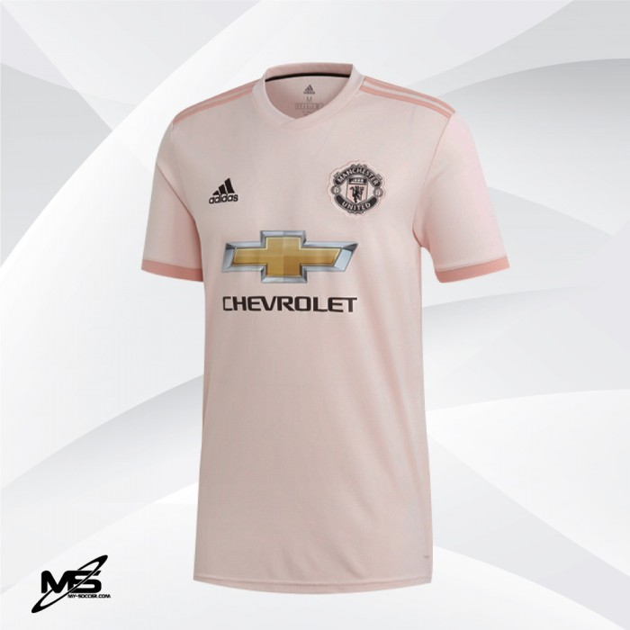 ADIDAS CLIMALITE Manchester United Football Club Away 2018-19 Jersey a80c43a88