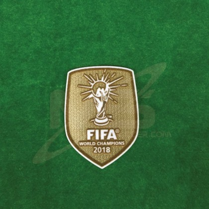 Official FIFA WORLD CHAMPIONS 2018 Patch for France Away 2018-19 Jersey
