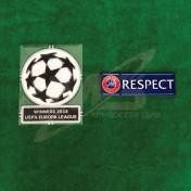 Official UEFA EUROPA LEAGUE WINNERS 2018 + RESPECT SENSCILIA Patch
