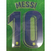 OFFICIAL PLAYER ISSUE MESSI #10 FC Barcelona Away 2018-19 PRINT