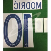Official MODRIC' #10 CROATIA Home World Cup 2018 PRINT