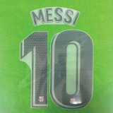 OFFICIAL PLAYER ISSUE MESSI #10 FC Barcelona 3rd 2018-19 PRINT