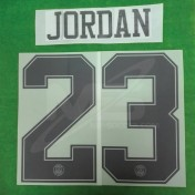 Official JORDAN #23 PSG 3rd UCL (WHITE Jersey) 2018-19 PRINT