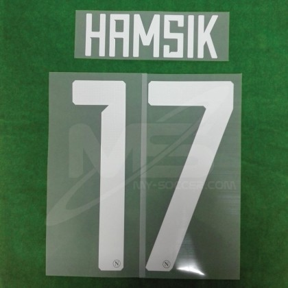 Official HAMSIK #17 SSC NAPOLI HOME 2018-19 PRINT