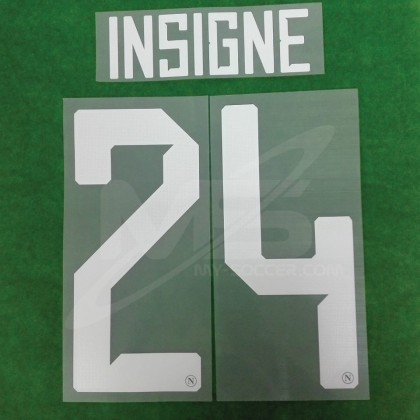 Official INSIGNE #24 SSC NAPOLI HOME 2018-19 PRINT