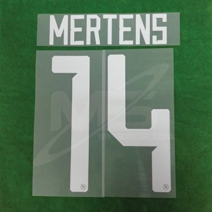 Official MERTENS #14 SSC NAPOLI HOME 2018-19 PRINT