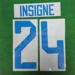 Official INSIGNE #24 SSC NAPOLI Away 2018-19 PRINT